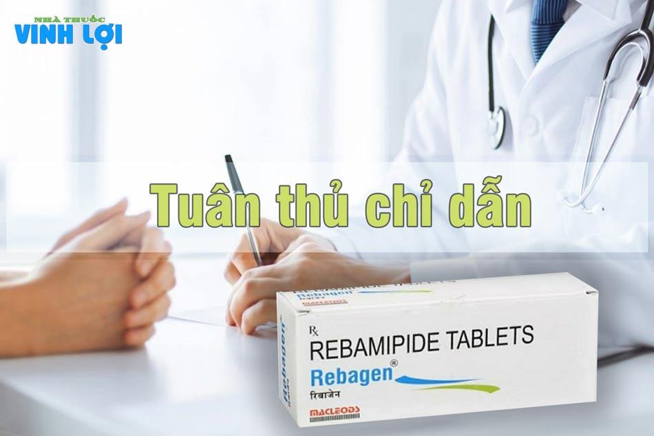 Thuốc Rebamipide cần được hướng dẫn của nhân viên y tế để tránh gây tác dụng phụ không mong muốn