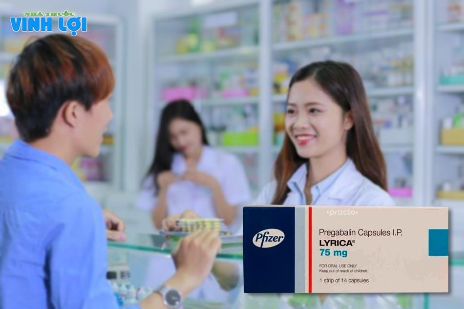 Thuốc Lyrica 75mg chính hãng mua ở đâu?