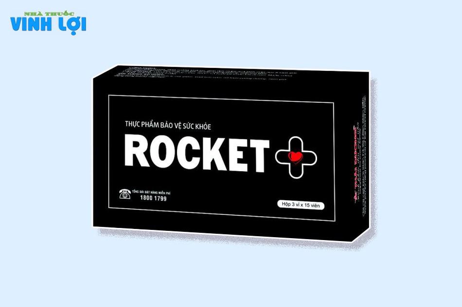 Bài thuốc Rocket+ được chiết xuất từ các loại dược liệu quý giúp bổ thận tráng dương, tăng cường sinh lực cho nam giới