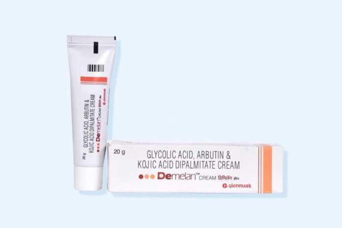 Demelan Cream là sản phẩm kem dưỡng da giúp hỗ trợ làm mờ vết thâm và nám trên da, mang lại làn da khỏe mạnh hơn mỗi ngày.