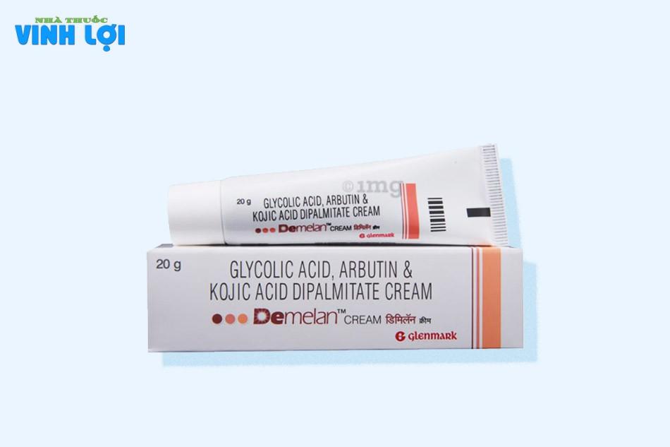 Demelan chứa nhiều dưỡng chất giúp làn da tươi sáng đều màu