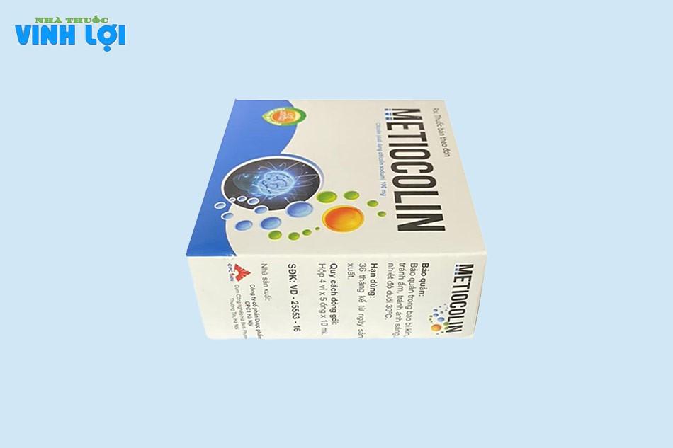 Đối tượng sử dụng Metiocolin 10ml