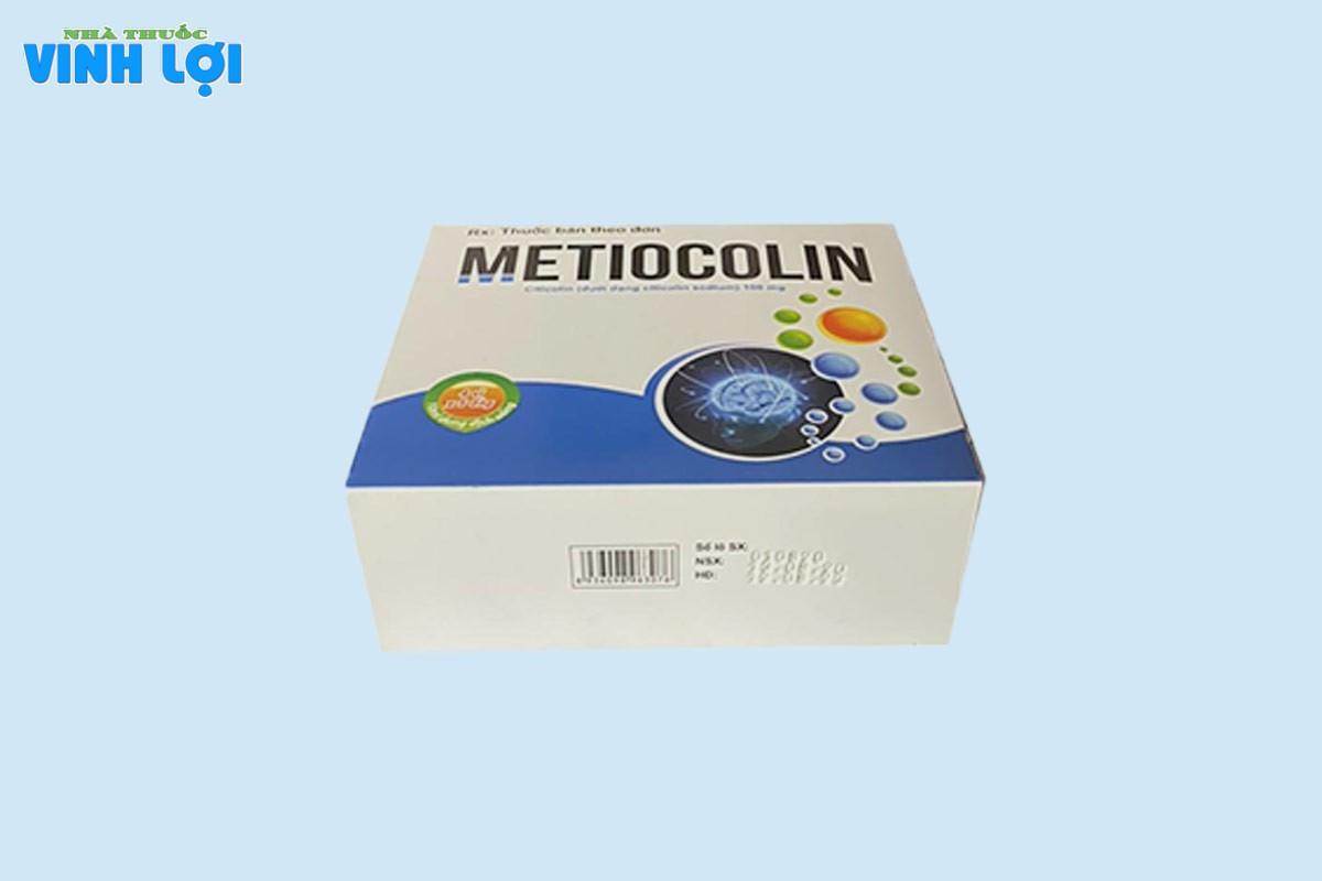Lưu ý khi sử dụng Metiocolin 10ml