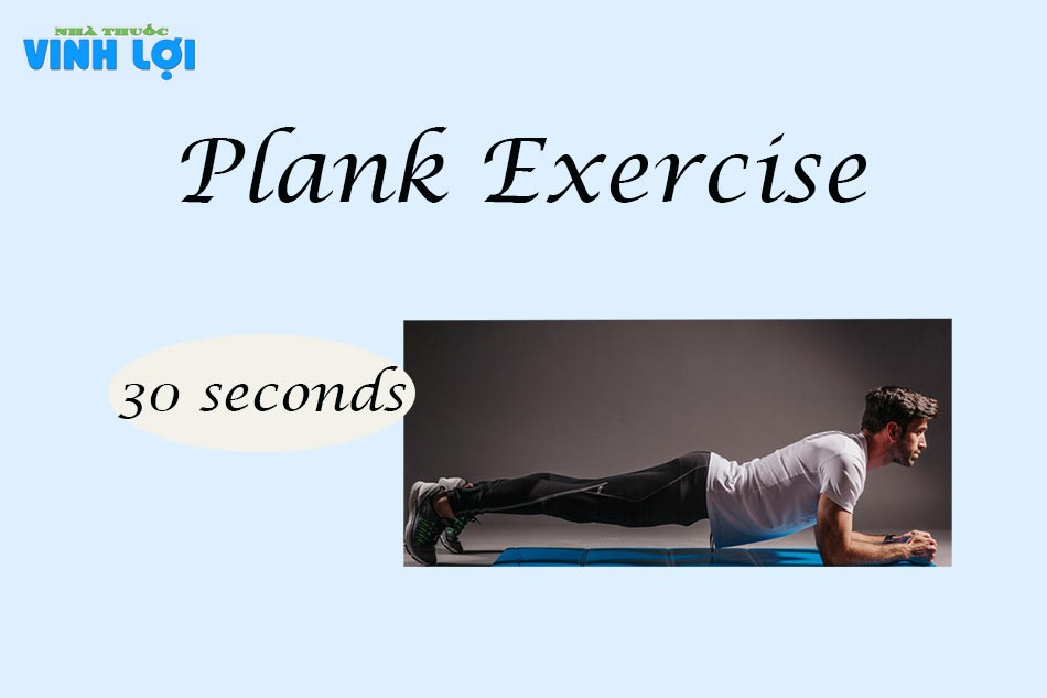 Bài tập Plank trị xuất tinh sớm