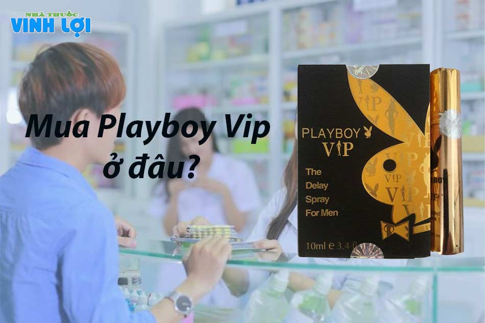 Chai xịt Playboy VIP mua ở đâu?