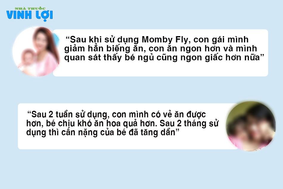 Review từ các mẹ về Momby Fly trên Webtretho