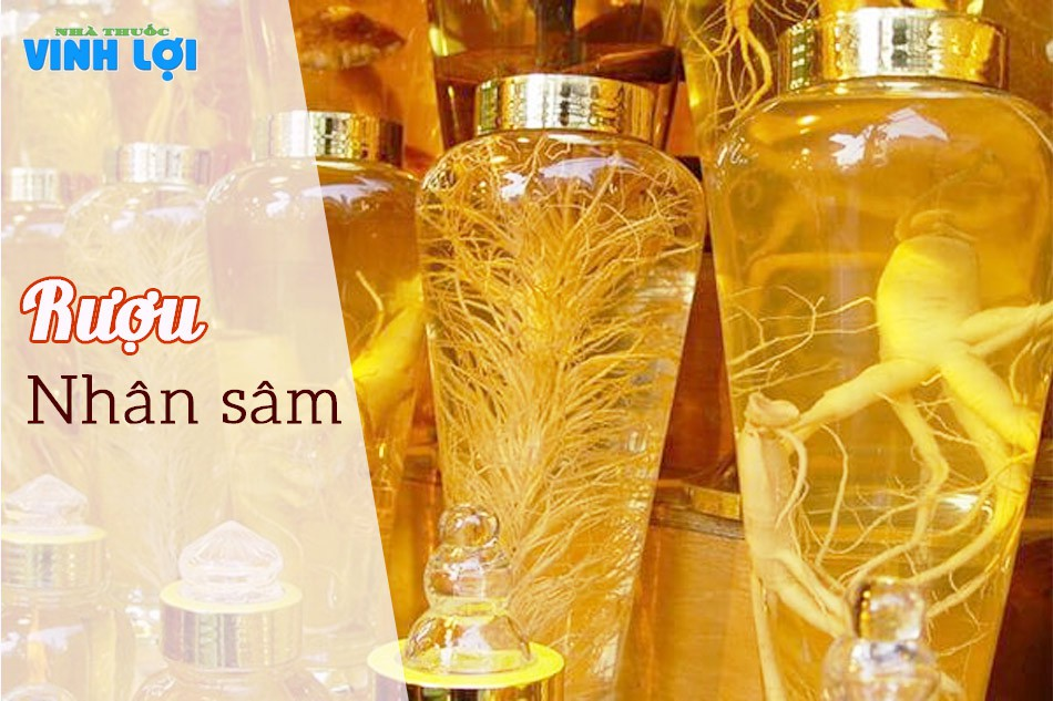 Rượu nhâm sâm cũng được nhiều người sử dụng để bồi bổ sức khỏe cũng nhưng tăng cường sinh lý