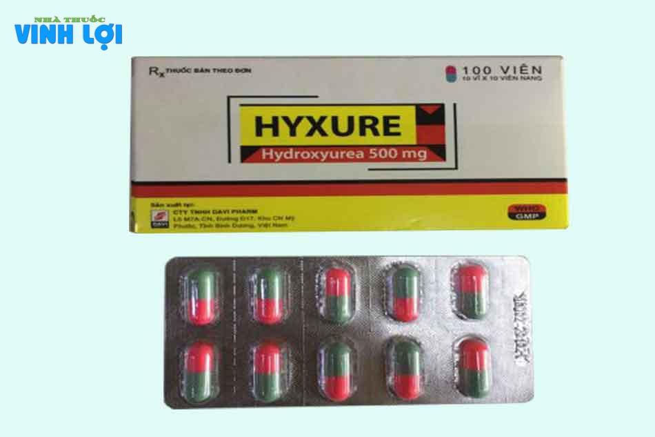 Thành phần thuốc Hyxure