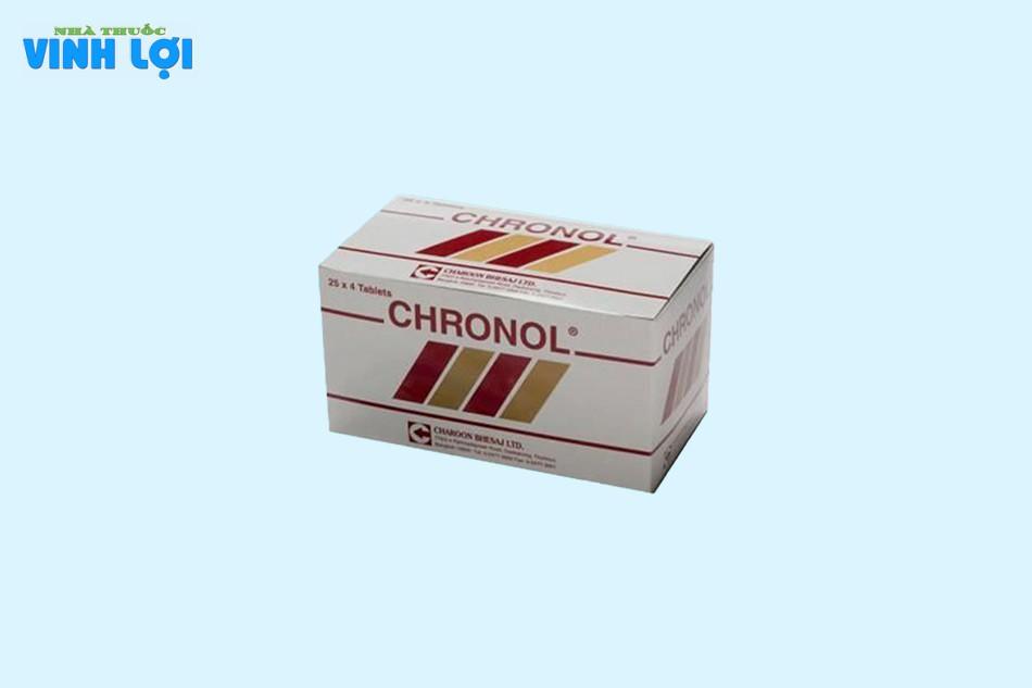 Tác dụng phụ của Chronol 500mg