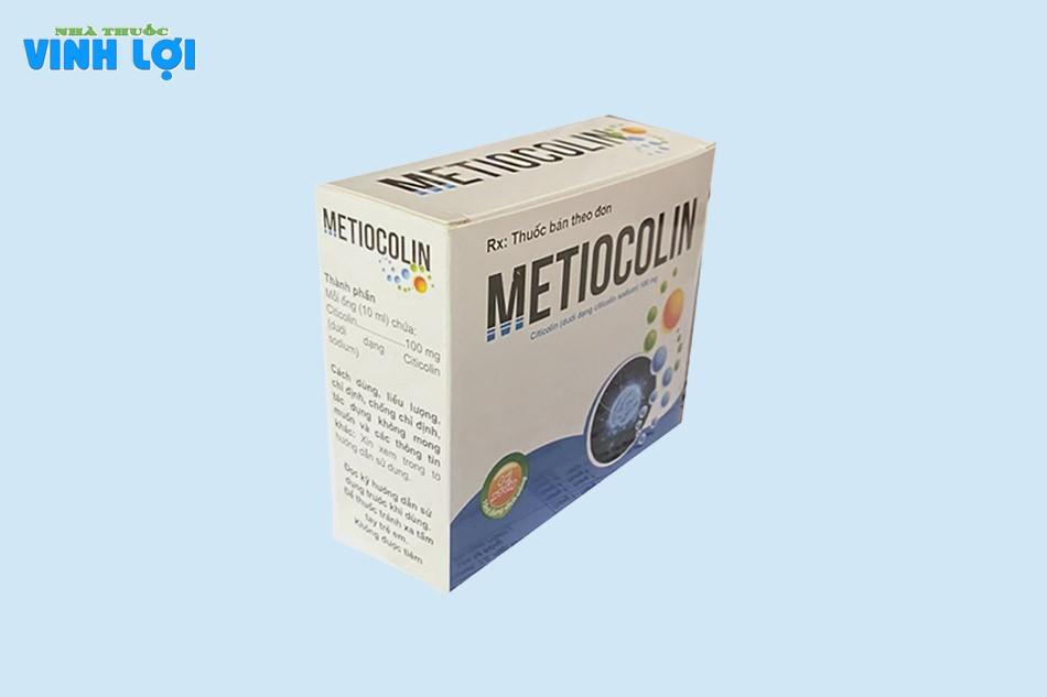 Thành phần thuốc Metiocolin 10ml