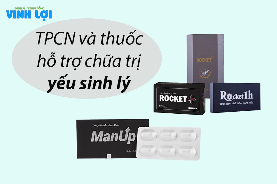 TPCN và thuốc hỗ trợ chữa trị yếu sinh lý