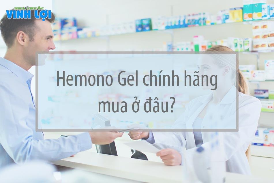Mua Hemono Gel ở đâu?
