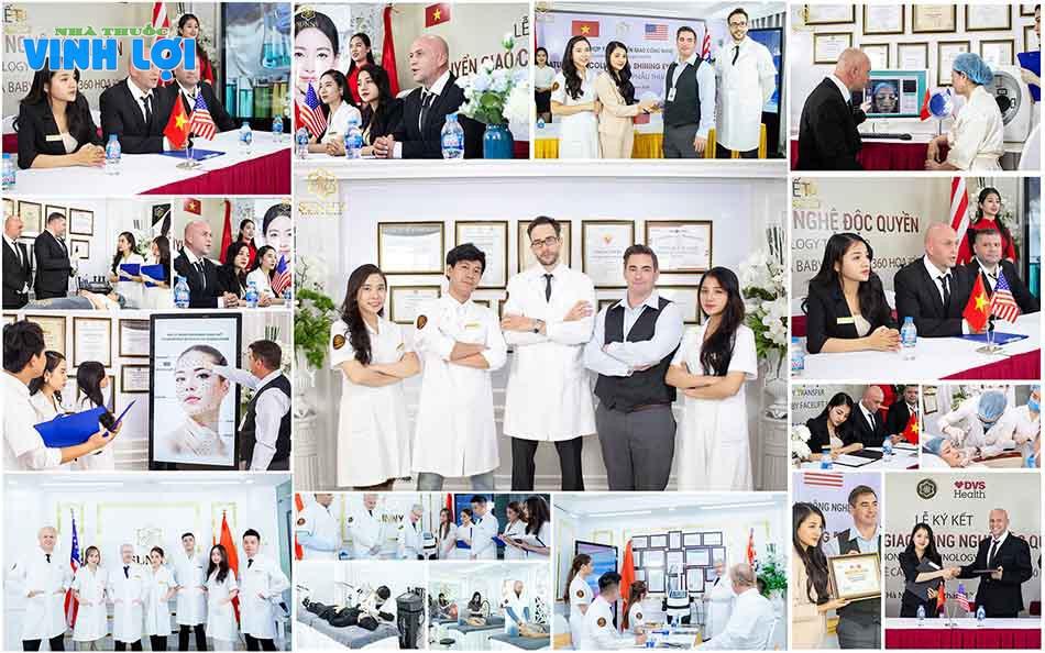 Hình ảnh đội ngũ y bác sĩ giàu chuyên môn tại TMV Sunny