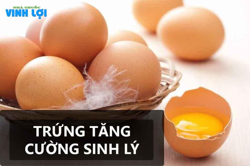Nam giới yếu sinh lý nên ăn trứng