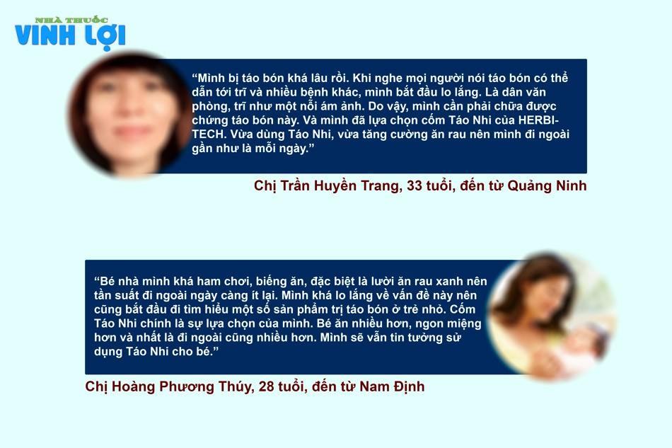 Review về sản phẩm Táo Nhi