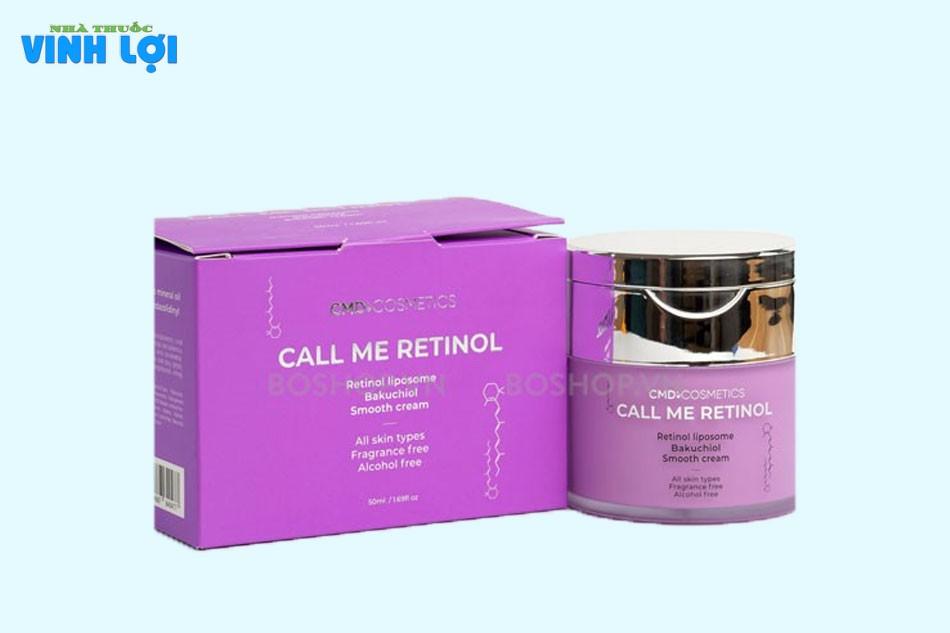Kem dưỡng Call me Retinol có tốt không?