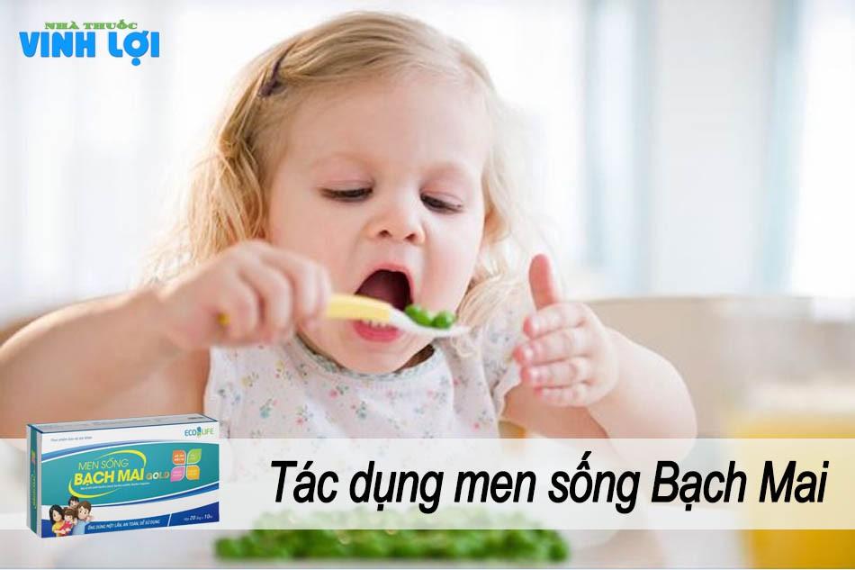 Tác dụng của Men sống Bạch Mai