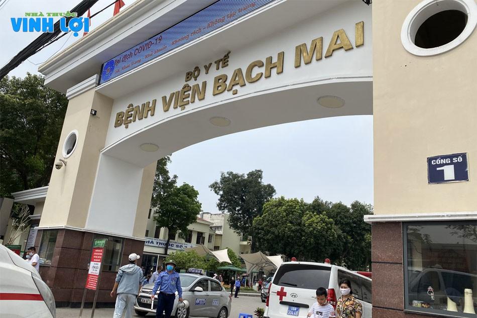 Bệnh viện Bạch Mai là một trong những bệnh viện tuyến đầu cả nước