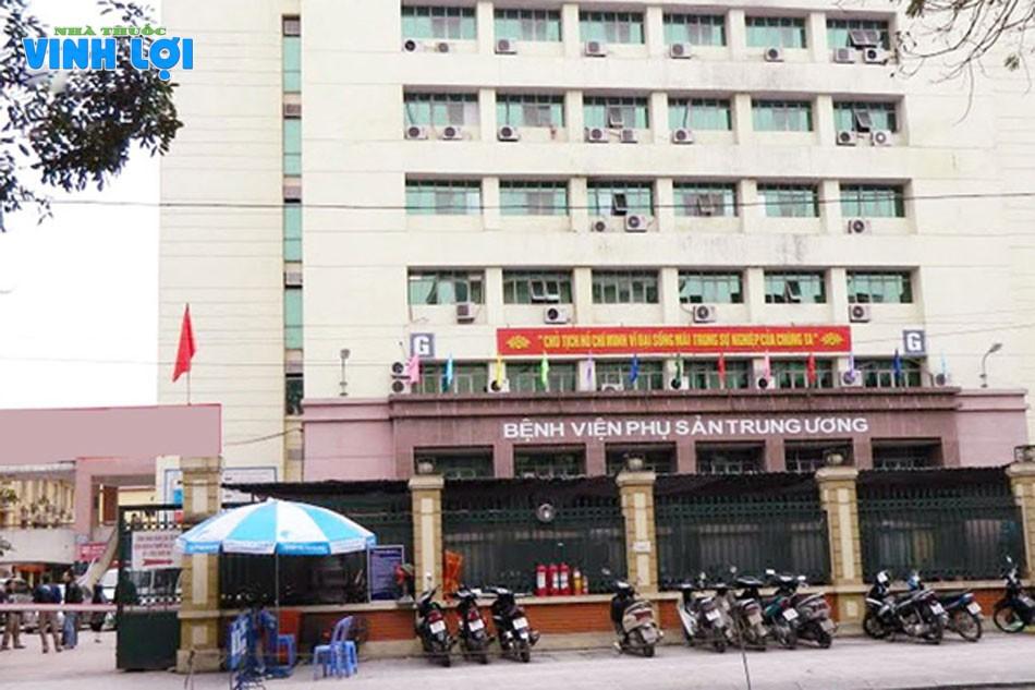 Bệnh viện Phụ sản Trung ương cũng là nơi điều trị các vấn đề về sinh lý nam giới